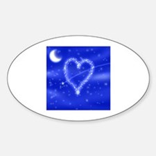 A Wish Your Heart Makes Oval Decal