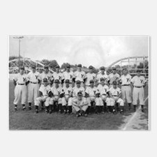 Youngstown Baseball Team at I Postcards (Package o