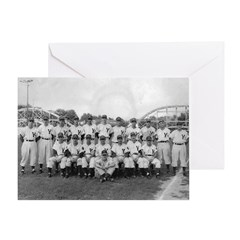 Youngstown Baseball Team at I Greeting Card