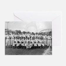Youngstown Baseball Team at I Greeting Card