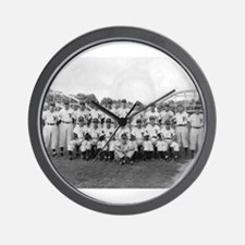 Youngstown Baseball Team at I Wall Clock