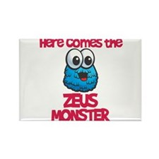 Zeus Monster Rectangle Magnet
