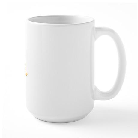 tux dollar Large Mug