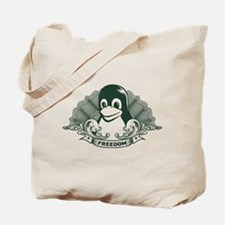 tux dollar Tote Bag