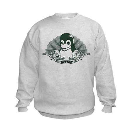 tux dollar Kids Sweatshirt