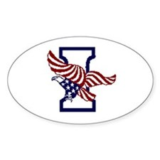Independence Party of America Oval Decal