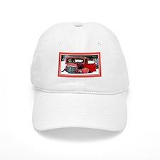Keeshond - Old Car Christmas Baseball Cap