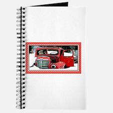 Keeshond - Old Car Christmas Journal