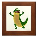Crawley Croc Framed Tile