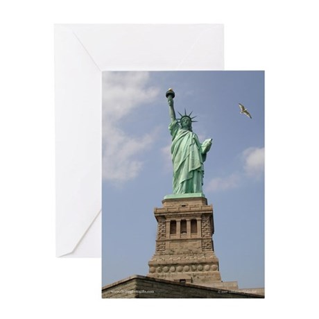 Statue of Liberty NYC Greeting Card