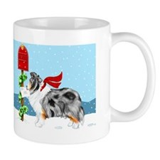 Blue Merle Sheltie Mail Mug