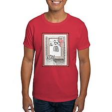 Keeshond - Christmas T-Shirt