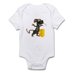Rattachewie Infant Bodysuit
