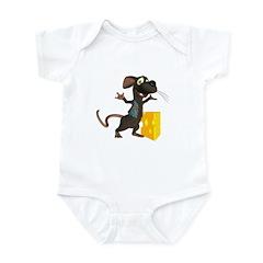 Rattachewie Infant Bodysuit