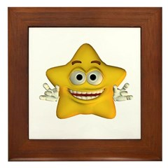Twinkle Star Framed Tile