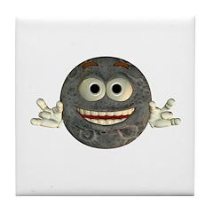 Twinkle Moon Tile Coaster