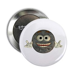 "Twinkle Moon 2.25"" Button"