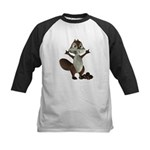 Nickie Squirrel Kids Baseball Jersey