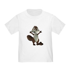 Nickie Squirrel Toddler T-Shirt