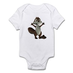 Nickie Squirrel Infant Bodysuit