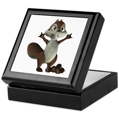 Nickie Squirrel Keepsake Box