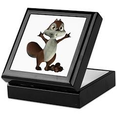 Nickie Squirrel Keepsake Box