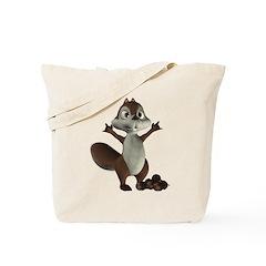 Nickie Squirrel Tote Bag