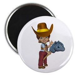 Cowgirl Kit Magnet