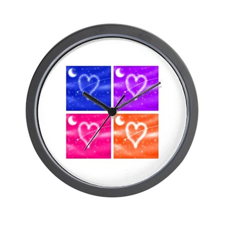 A Wish Your Heart Makes Tile Wall Clock