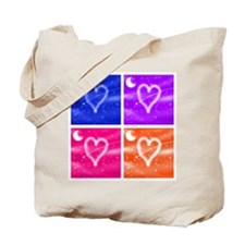 A Wish Your Heart Makes Tile Tote Bag