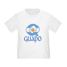 QGuapo_Argentina_Flag T-Shirt