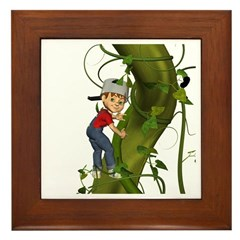 Jack 'N The Beanstalk Framed Tile