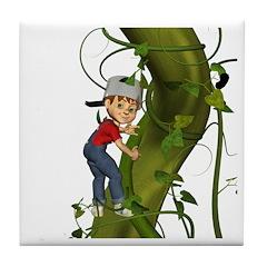 Jack 'N The Beanstalk Tile Coaster