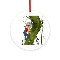 Jack 'N The Beanstalk Ornament (Round)