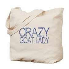 Crazy Goat Lady 2 Tote Bag