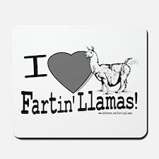Farting Llamas Mousepad