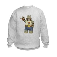 Heath Hippo Kids Sweatshirt