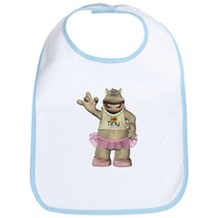 Heather Hippo Bib