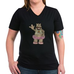 Heather Hippo Shirt