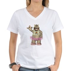 Heather Hippo Shirt