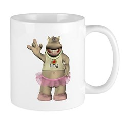 Heather Hippo Mug