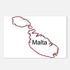 Malta Postcards (Package of 8)