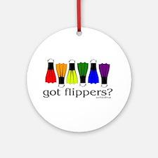 Got Flippers? Keepsake (Round)