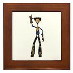 Hay Billy Framed Tile