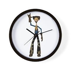 Hay Billy Wall Clock