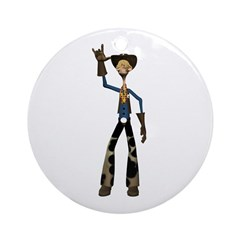 Hay Billy Ornament (Round)