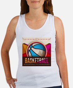 Basketball Sport Ball Game Cool Tank Top