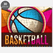 Basketball Sport Ball Game Cool Puzzle