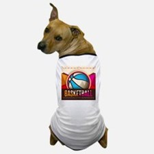 Basketball Sport Ball Game Cool Dog T-Shirt