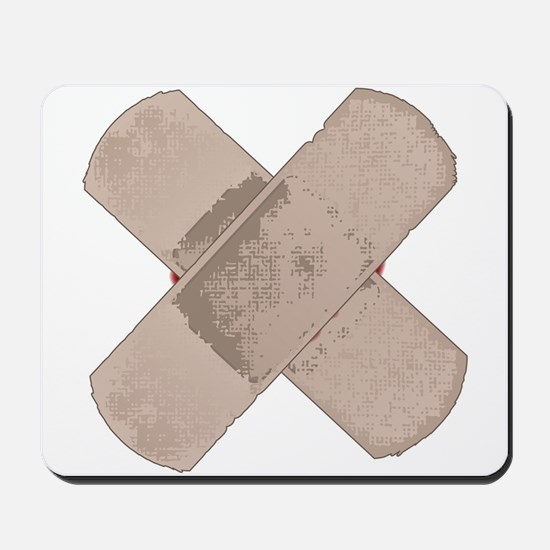 Sticking Plasters Mousepad